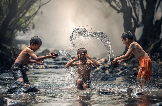 Världens barn insamling